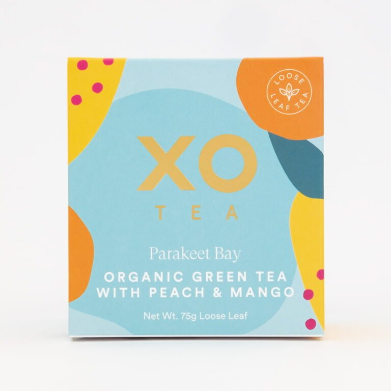 XO-Tea_Organic-Peach-Mango-Tea_Parakeet-Bay_Gift-Box